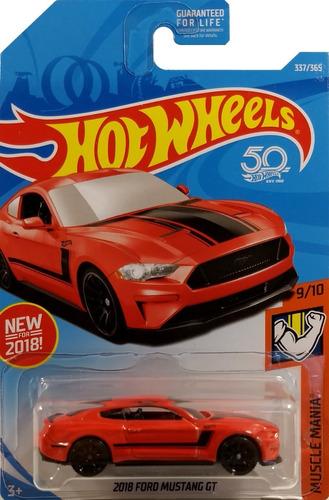 Hot Wheels 2018 Ford Mustang Tarjeta Americana