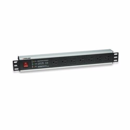 Barra Multicontacto Para Rack  Intellinet Con 7 Contactos