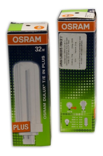Osram Dulux T / e In Plus 32w / 841 Gx24q-3 Lamp Pack 4 - Ecart