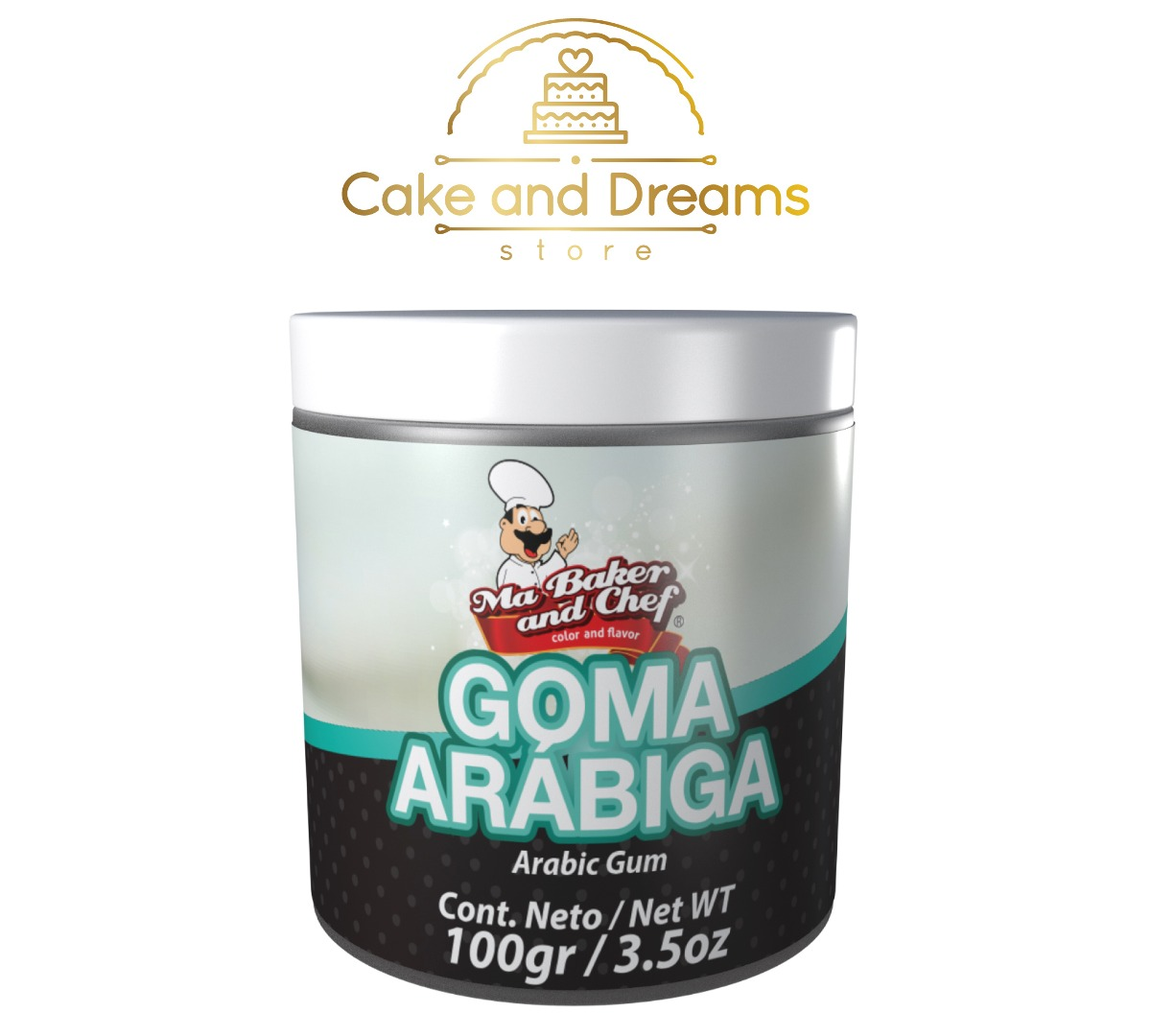 Goma Arábiga 100g - Ma Baker and Chef