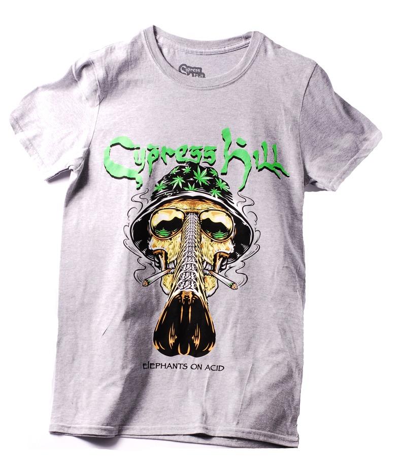 Playera Oficial Cypress Hill Gray Shull