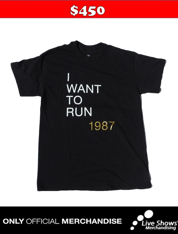Playera Oficial U2 TO HIDE BLACK TEE