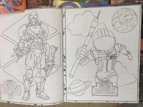 Libro De Colorear Fortnite Battle Royale 16 Pág Fiesta En Venta En