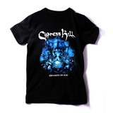Playera Oficial Cypress Hill Black