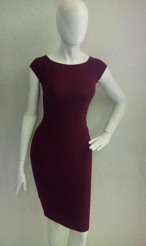 Vestido Para Dama Formalcasual Largo Color Vino En Venta En