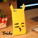 Funda Botarga Diseño Pikachu iPhone 6 Plus iPhone 6s Plus