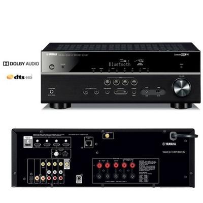 yamaha rx v481bl 5 1 bt wi fi airplay spotify receiver. Black Bedroom Furniture Sets. Home Design Ideas