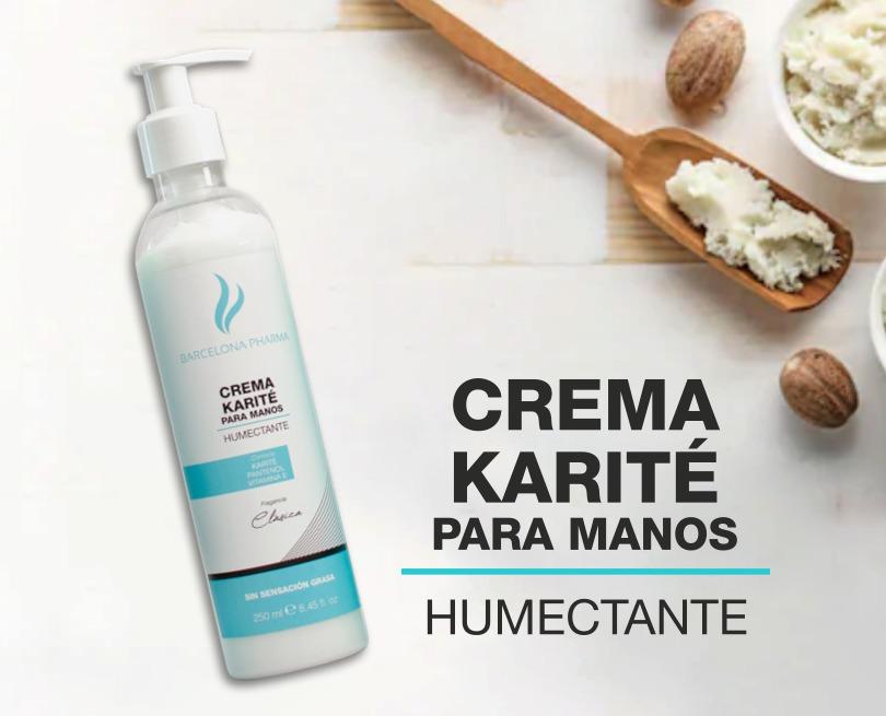 Crema Karité para  manos humectante
