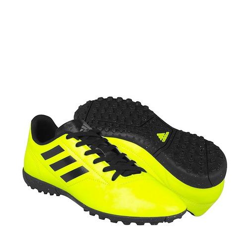 Tenis De Fútbol adidas Caballero Simipiel Amarillo Aq4335