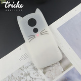 Funda Botarga Diseño Gato Bigotes Colores Moto E5 Plus