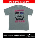 Playera Oficial RINGO STARR GREY TEE