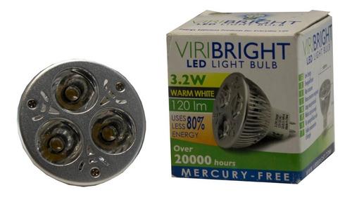 Led Spotlight Mr16 3,2w 12v Viribright Warm White