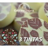 Transfer para Chocolate 3 tintas - Ma Baker and chef