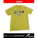 Playera Oficial LOS CALIGARIS Yellow Tee