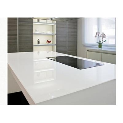 Cubiertas y placas de cuarzo blanco cocinas barras ba o for Planchas para forrar banos