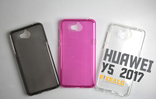 ecea139710b ... comprar Funda Protector Crystal Case Tpu Case Huawei Y5 2017 / Pro ...