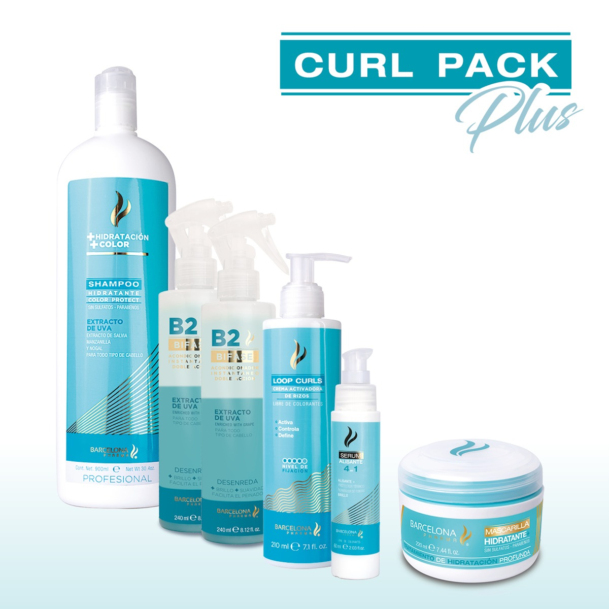 Curl Pack Plus