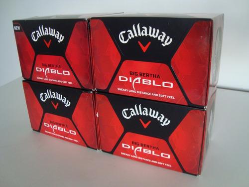 Cajas De 12 Pelotas De Golf Callaway Diablo Gran Oferta