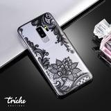 Funda Case Flor Loto Vintage Mandala Galaxy S9 Plus S9+
