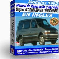 CHRYSLER CARAVAN-VOYAGER-TOWN 1992 (ingles)