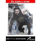 Poster Oficial ROMAN REIGNS Autografiado