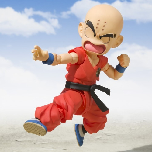 Tooys: Krillin S.h. Figuarts- The Early Years De Dragon Ball