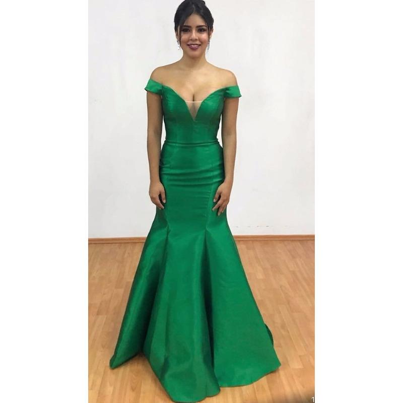 Vestido 84076 Verde Bandera 45000 Pgprivilege