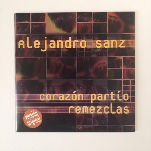 Cd Promo Alejandro Sanz Corazon Partio Remezclas