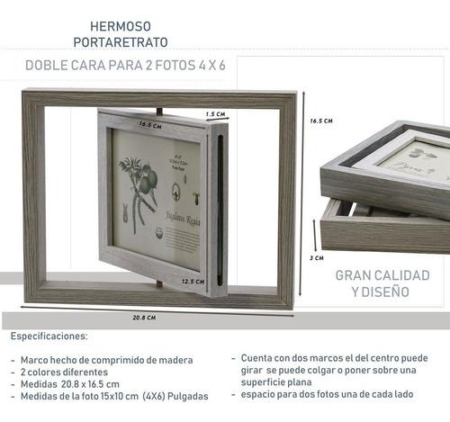 My Portaretrato Madera Regalo Novios Fotos Hw112 4x6 Gira