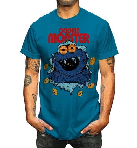 Playera Cookie Monster