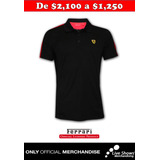 FERRARI SPORT POLO BLACK