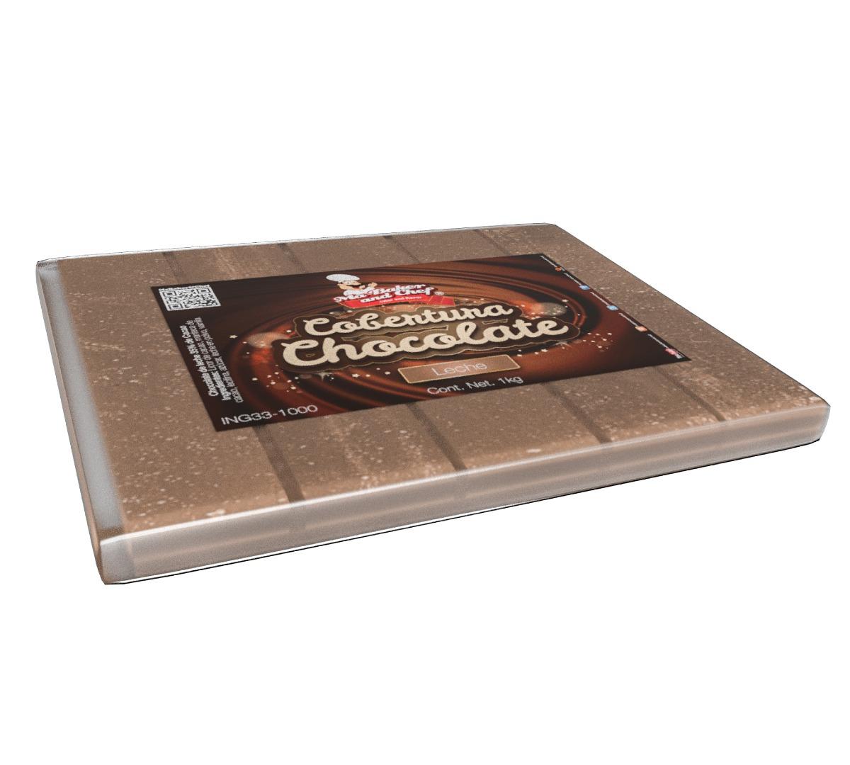 Tablilla de Chocolate 1 kg - Ma Baker and Chef