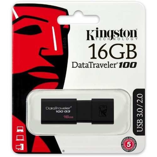 Kingston Memoria Usb Datatraveler Usb 3.0 16gb Dt100g3/16gb