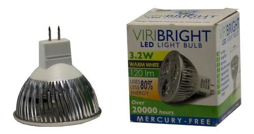 Led Spotlight Mr16 3,2w 12v Viribright Warm White - Ecart
