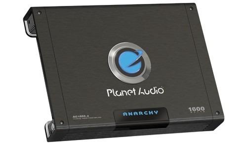 Amplificador Planetaudio 4 Canales Ac1600.4 1600watts