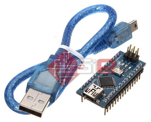 Arduino Nano V3, El Mas Pequeño, Versión Re-diseñada By Siet