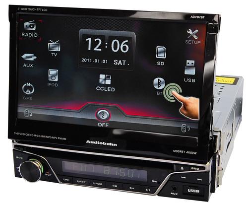 Autoestereo Audiobahn Con Pantalla Motorizada Touch 7 Xaris