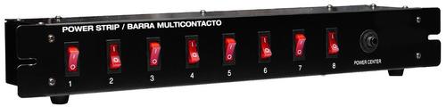 Barra Multicontacto Entradas Para Rack Casa Audio Dj Xaris