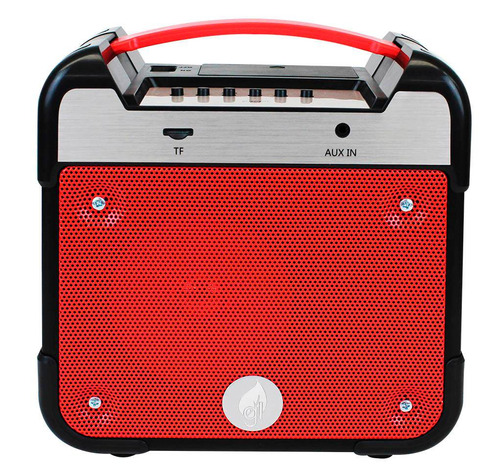 Bocina Bluetooth Inalámbrica Radio Fm Sd Recargable Portátil