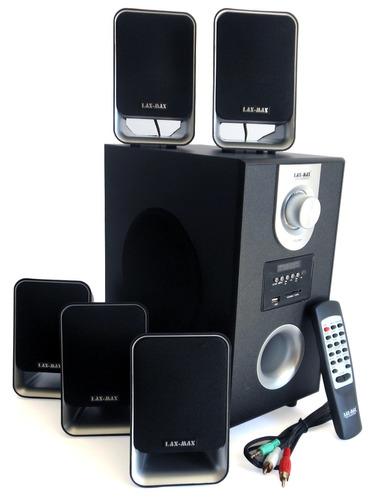 Bocina Para Pc Home Theater 5.1 Minicomponente Sd Y Usb Mp3