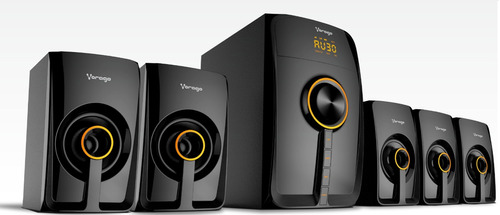 Bocinas Bluetooth 5.1 Vorago Spb-500 Multimedia,home Theater