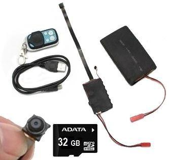 Camara Espia Full Hd 1080p Con 32gb Y Bateria De 4000mah