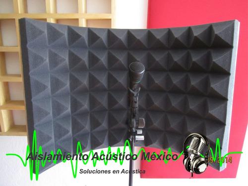Concha Acústica Portátil Panel Vocal Para Grabar Voz