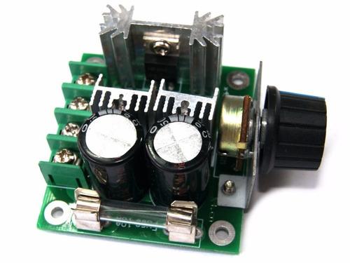 Controlador De Motores Dc 12v A 40v 10a Pwm