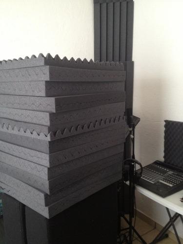 Espuma Acústica Estudio Grabación-sala Ensayo-sala Tv-radio