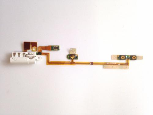 Flex Botones Y Jack Audio Ipod Nano 6g
