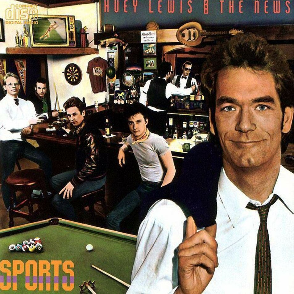 Huey Lewis & the News - Sports, album cover