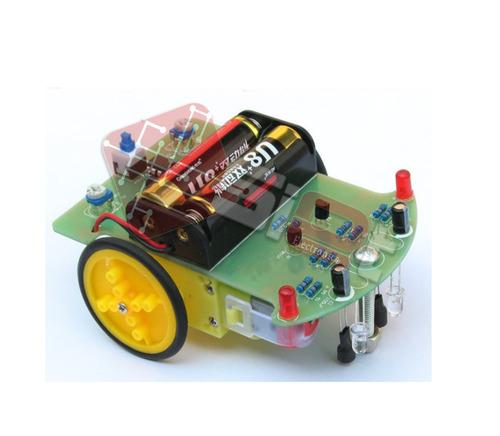 Kit Robot Seguidor De Linea Robotica Arduino Pic By Siet