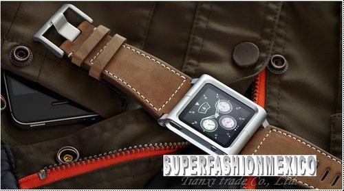 Lunatik Extencible Cuero Ipod Nano Touch 6g Chcago Collectio