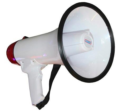 Megáfono Con Grabadora Y Musica